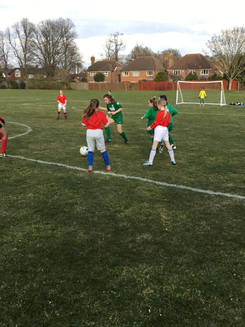 Girls Football Match March 18
